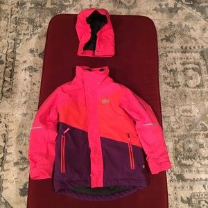 Helly Hanson youth ski jacket size 8
